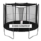 Lejump Trampoline Round Leaf Net Cover for 8FT 10FT 12FT 14FT (10FT)