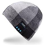 Rotibox Hommes Femmes Bluetooth Audio Music Beanie chapeau casquette avec haut-parleur stéréo...