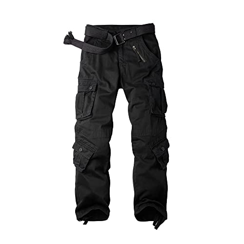 29d843258c9eb OCHENTA Men s Cotton Military Cargo Pants