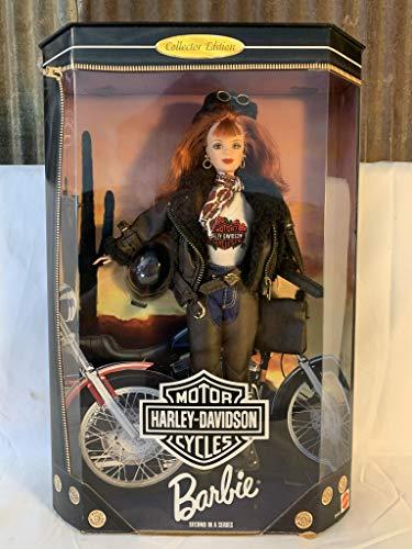Barbie Harley Davidson Doll Number 4 Blonde
