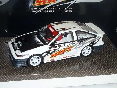Toyota Trueno Sprinter Ae86 Weiss Rennversion 1983 1/24 Hot Works Racing Modellauto Modell Auto