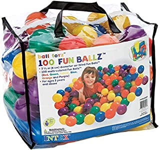 Intex Ball Toys Fun Balls Model (49600)