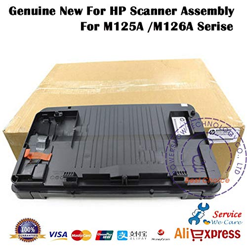 Find Discount Printer Parts Original New CZ172-60107 Flatbed Scanner Assembly for HP M125 M126 125 1...