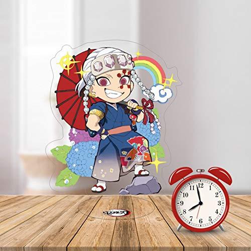 Ailin Online Demon Slayer Japan Anime Minifiguren Tisch Puppe Home Office Display Ständer Dekoration (Uzui Tengen)