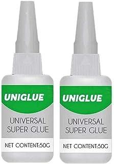 2PCS UniGlue Universal Super Instant Adhesive,Multi-Purpose Quick Dry Glue for Resin Ceramic Metal Glass