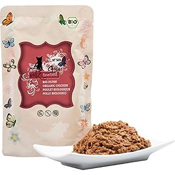 catz finefood Nourriture Humide pour Chat - N° 503 - 12 x 85 g - sans céréales ni Sucre ajouté (1,02 kg)