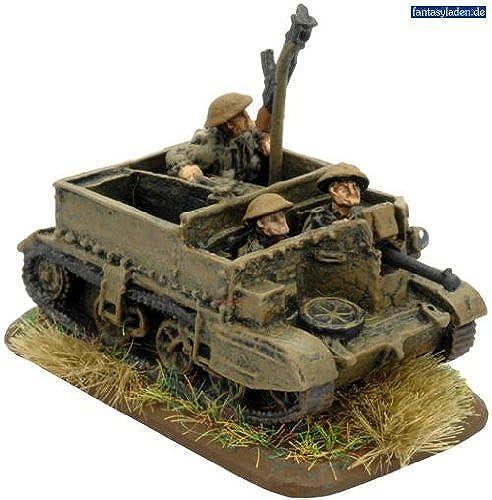 suministro directo de los fabricantes British    Universal Carrier Mk II (x3) by Battlefront Miniatures  costo real