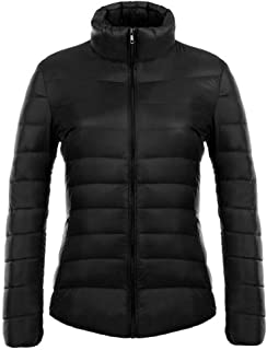 BOZEVON Women's Winter Down Puffer Jacket Coat Packable Ultra Light Weight
