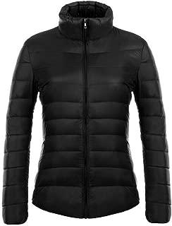 BOZEVON Women's Winter Down Puffer Jacket Coat Packable Ultra Light Weight