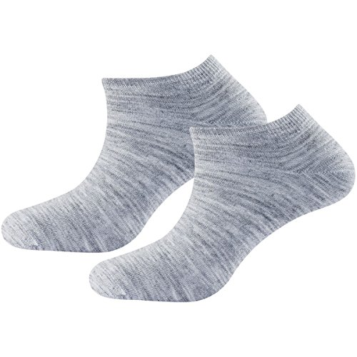 Devold Daily Shorty Socks 2Pk Größe 41-46 Grey Melange