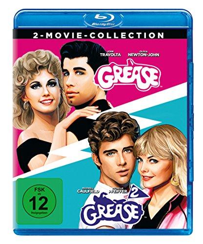 Grease + Grease 2 [Blu-ray]