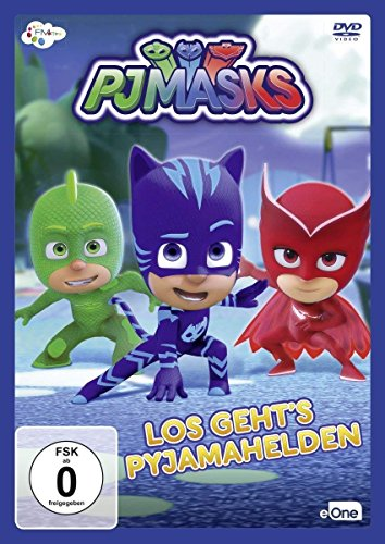 PJ Masks - Los geht's Pyjamahelden