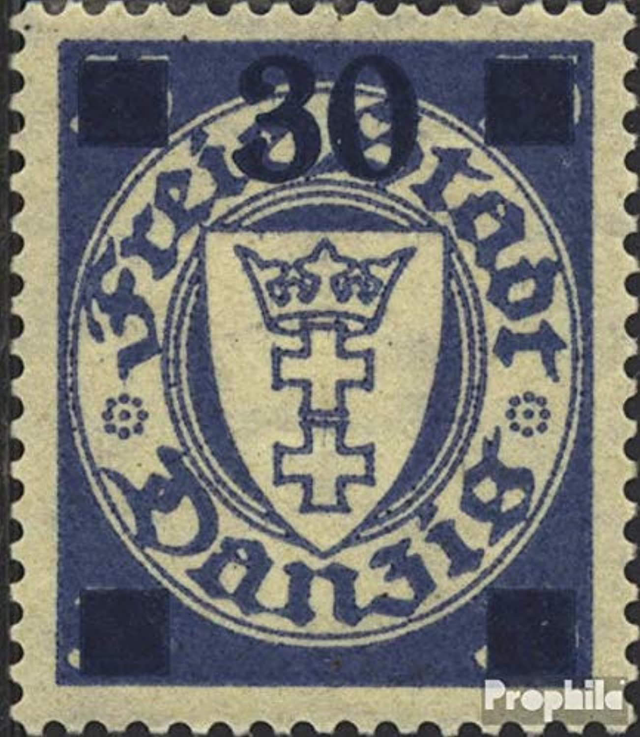 Gdansk 242b tested 1934 Supplementary Issue (Stamps for collectors)