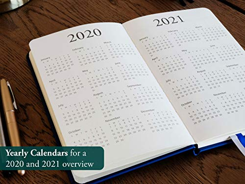 2020 Planner - Yearly, Weekly, Monthly, Daily Planner 2020-2021 with Calendar 2020-2021 Planner Organizer (Blue) | 2020 Weekly Planner 2020 Monthly Planner Yearly Planner 2020 Weekly Monthly Planner Photo #7