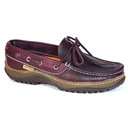 Zapatos Apache 512 Burdeos - Color - Burdeos, Talla - 44
