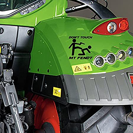 Ms Car Sticker Don T Touch My Fendt Sticker Auto