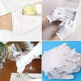 Immagine 2 guanti in cotone bianchi idratanti