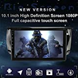 LEXXSON Android 8.1 Car Radio Stereo 10.1 inch Capacitive Touch Screen High Definition GPS Navigation Bluetooth USB Player 1G DDR3 + 16G NAND Memory Flash for Nissan Sentra 2013 2014 2015 2016 2017
