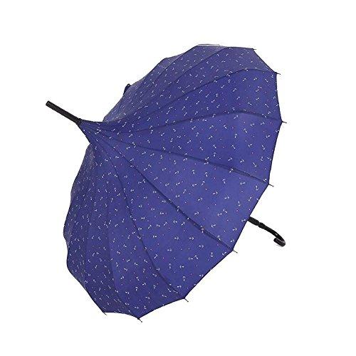 bpblgf H Professionnel Pas Cher à La Mode MéNage Coupe-Vent Mariage Parapluie, 01