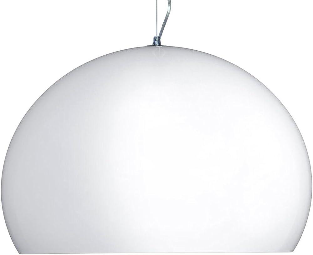 kartell lampada a sospensione led fl/y 9053.03_bianco