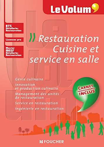 Restauration Cuisine et service en salle