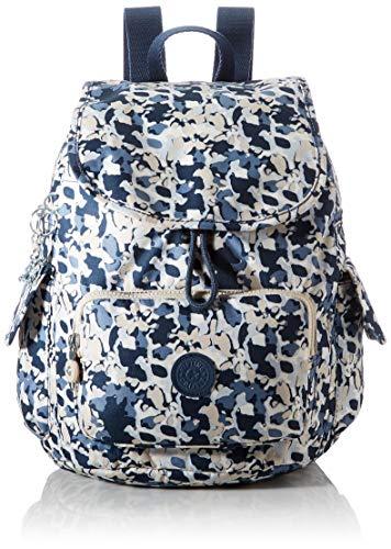Kipling City Pack S, Mochila, Bolso para Mujer, Arte Floral, One Size