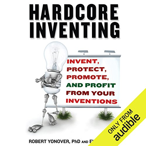 Hardcore Inventing audiobook cover art