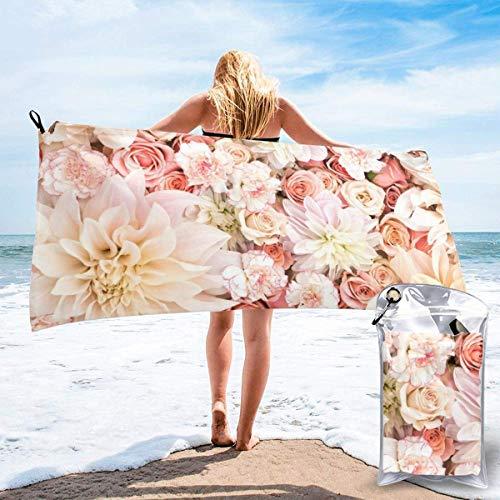 CHUNXU Toalla de playa de secado rápido, toalla de baño...