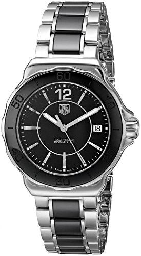 Stainless Steel Black Ceramic Formula 1 Quartz