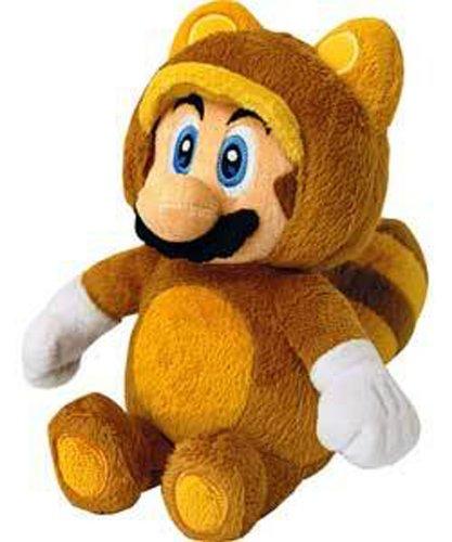 Nintendo Super Mario Bros - Muñeco de Mario Tanooki