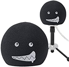 YOUSHARES Blue Snowball Pop Filter - Customizing Microphone Windscreen Foam Cover for Improve Blue Snowball iCE Mic Audio Quality (Mouth)