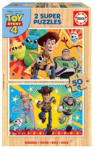 Educa Toy Story 4 2 Puzzles de 50 Piezas, multicolor (18084)