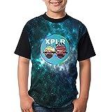 Photo de XCNGG Garçons Tops T-Shirts Color Ban-Do-Bros T-Shirts Boys T-Shirts Youth Quick-Dry Comfortable Short Sleeves