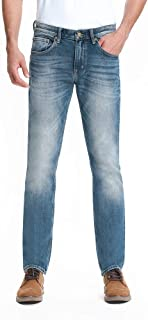 Men's Jean Men Relaxed Fit Jean Classics Mid Rise Straight Leg Stretch Jean 342