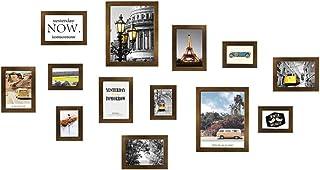 Ouqian Marco del Collage Habitación de Madera Maciza de Marco de Fotos Combinación Fondo del sofá Imagen de Pared niños Pa...
