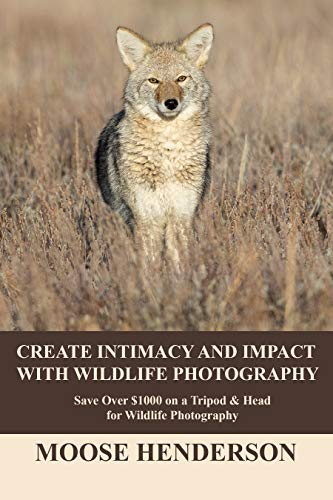 Create Intimacy and Impact with Wildlife Photography: Save over $1000 on a Tripod and Head for Wildlife Photography (English Edition)