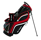 Ben Sayers DLX, Borsa con Supporto, per Golf Unisex, Black/Red, 8.5-inch...