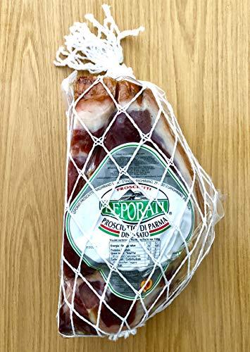 Auszeichnung von Gambero Rosso - PROSCIUTTO di Parma DOP LEPORATI 30 Monate gereift am Stück- Parmaschinken Gambero Rosso Qualität ca 1,7kg