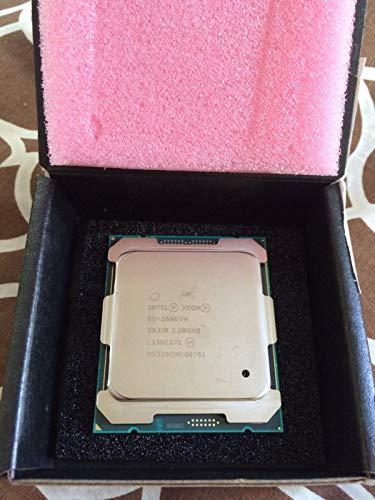 Intel Procesador Xeon E5-2696 V4 Sr2j0 de 2,2 GHz, 22 núcleos, 55 mb, 150 W, Lga2011-3 CPU (renovado)