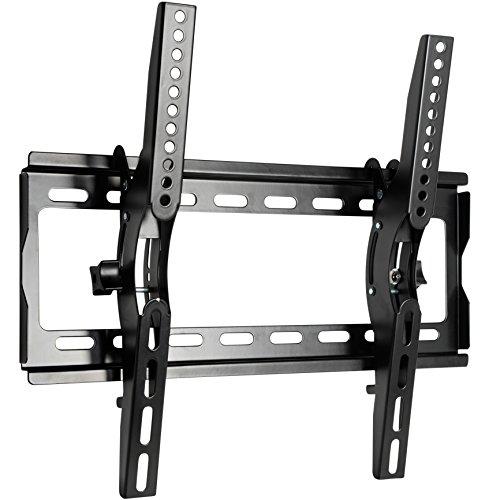 Mool Slim TV muurbeugel voor 17-37 inch LCD/LED en Plasma TV met super sterke draagkracht tot 40 kg, zwart PARENT Belastbaarheid tot 55 kg. 23-42-Inch zwart
