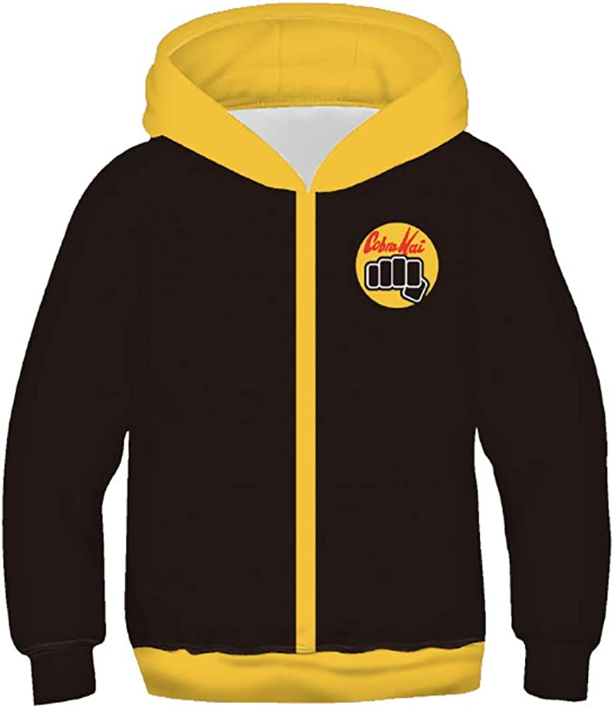 Karate online shopping Dojo Special sale item Hoodies for Kids Pullover Hooded Sweatshirts Casual