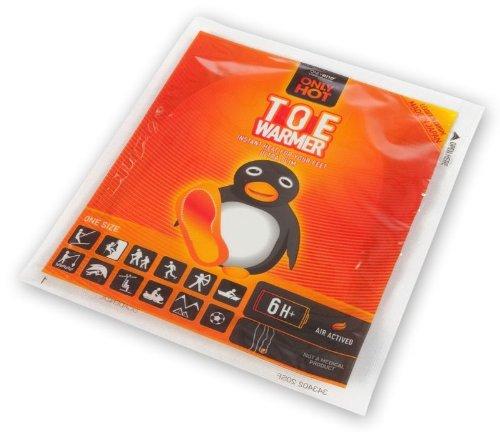 40 Paar OnlyHot Zehenwärmer Wärmepad für 6 Std. Aktivkohle