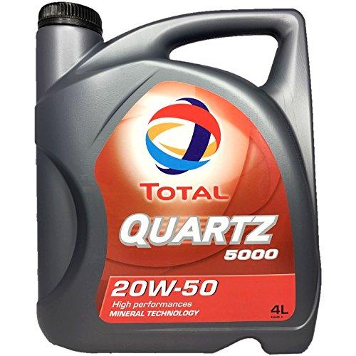 Motoröl Quartz 5000 20W-50 (4 L) Total 148594