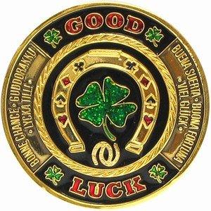 Poker card Guard–Good Luck design