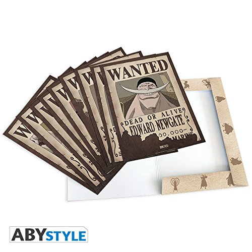 ABYstyle nbsp;– ABYDCO311 – Lote de 9 pósters, diseño Wanted