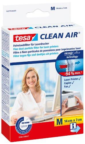 Tesa 50379-00001-00 Clean Air Filtro per Polveri Sottili Stampanti Laser, Misura M