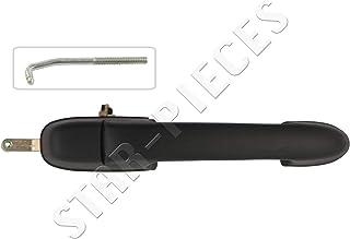 4x manija de pierta set puerta pinzamientos delantero trasera izquierda derecha exterior para fiat panda 169