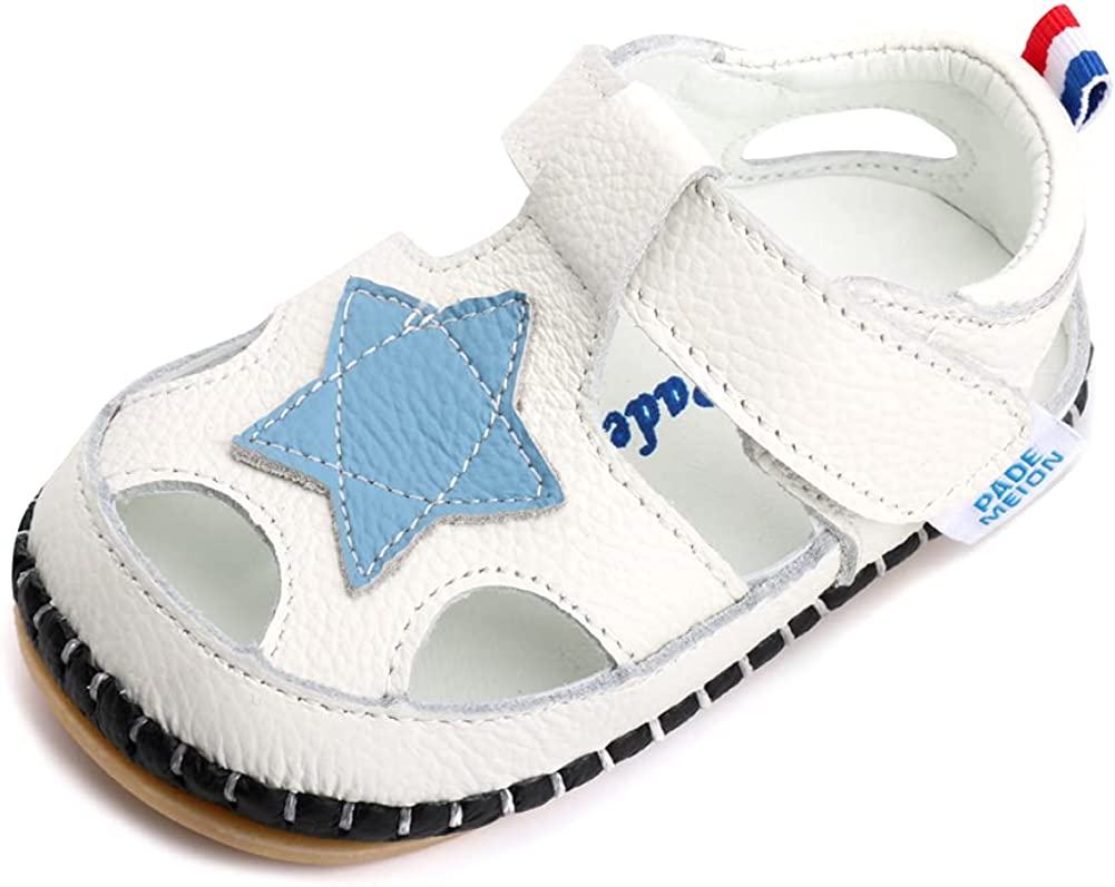 LONSOEN Baby Toddler Girls Leather Inexpensive Summer Sandals First 2021new shipping free Walking