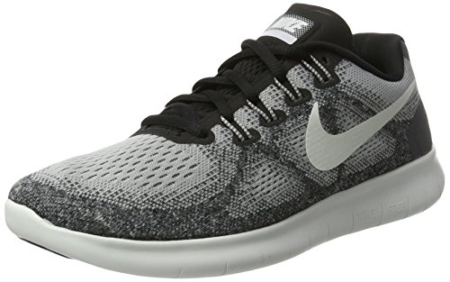 Nike Damen Free RN 2017 Laufschuhe, Grau (Wolf Grey/Pure Platinum/Black/Off White), 38 EU