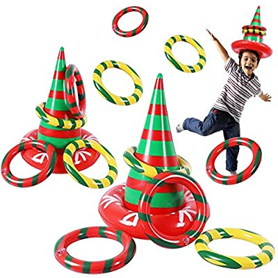 Max Fun Christmas Party Game Antler Ring Toss G...